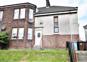 Thumbnail 2 bed flat for sale in Willow Crescent, Coatbridge