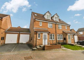 Thumbnail 4 bed semi-detached house for sale in Hyde Park, Kingswood, Hull