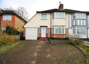 Thumbnail 3 bed semi-detached house for sale in Glenwood Road, Mill Hill