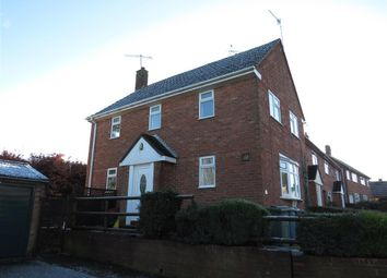 Thumbnail 3 bed semi-detached house to rent in Meadow Close, Eccleshall, Stafford