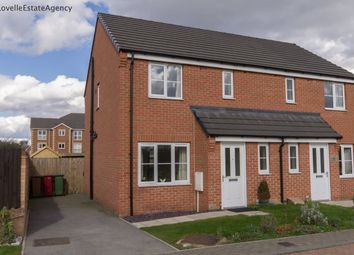 Thumbnail 3 bed semi-detached house to rent in Brambling Way, Scunthorpe