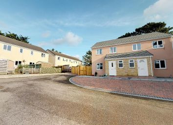 Thumbnail 3 bedroom end terrace house for sale in Strawberry Fields, Crowlas, Penzance, Cornwall.