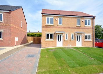 Thumbnail 2 bed semi-detached house to rent in The Sidings, Bishop Auckland