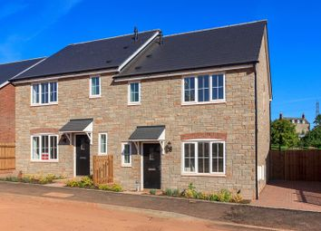 Thumbnail 3 bed semi-detached house for sale in Lea, Ross-On-Wye
