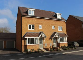 Thumbnail 4 bed town house for sale in Elder Court, Lavender Drive, Calne