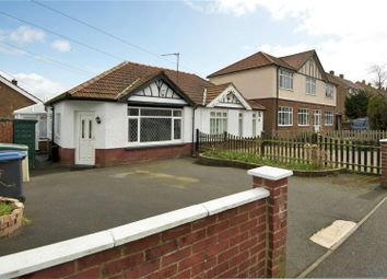 Thumbnail 1 bed semi-detached bungalow for sale in Capel Street, Capel-Le-Ferne, Folkestone