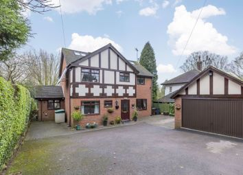 Thumbnail 5 bed detached house for sale in Cheadle Road, Cheddleton