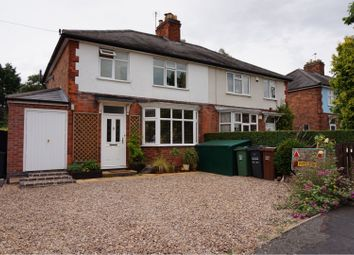 Thumbnail 3 bed semi-detached house for sale in Holmdale Road, Syston