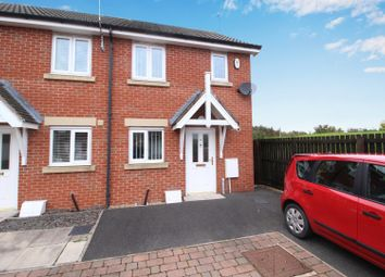 Thumbnail 2 bed town house for sale in Hawthorn Road, Widdrington, Morpeth, Northumberland