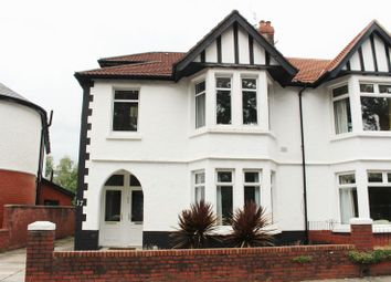 Thumbnail 1 bed flat to rent in Thompson Avenue, Victoria Park, Cardiff