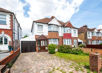 Thumbnail 3 bed semi-detached house for sale in Magpie Hall Road, Chatham, Kent
