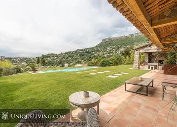 Thumbnail 4 bed villa for sale in Vence, French Riviera, France