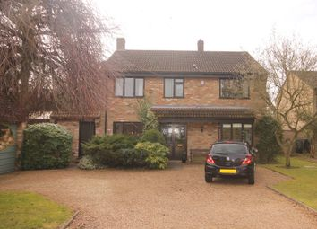 Thumbnail 4 bed detached house for sale in Woodlands Close, Cople