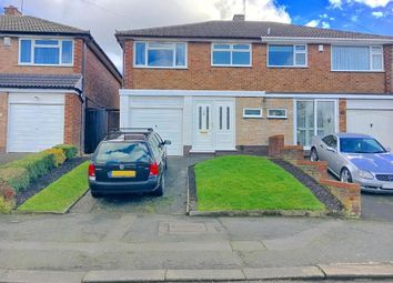 Thumbnail 3 bed semi-detached house for sale in Norfolk Avenue, West Bromwich, West Midlands