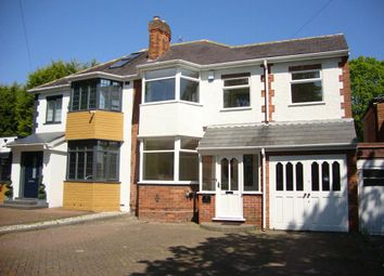 Thumbnail 4 bed semi-detached house to rent in Ulleries Road, Solihull