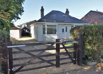 Thumbnail 3 bedroom detached bungalow for sale in Lea Road, Blackfield, Southampton