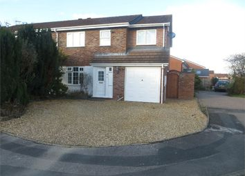 Thumbnail 4 bed semi-detached house to rent in Deanbrook Close, Monkspath, Solihull