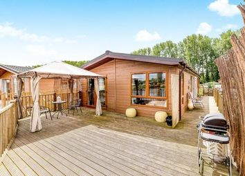 Thumbnail 3 bed mobile/park home for sale in Goose Island, Billing Aquadrome, Crow Lane, Northampton