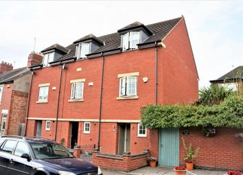 Thumbnail 3 bed town house for sale in Andrew Road, Anstey, Leicester