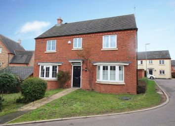 Thumbnail 4 bed detached house for sale in Waistrell Drive, Loughborough, Leicestershire