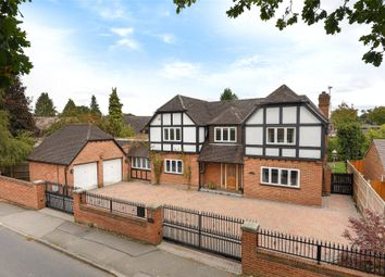 Thumbnail 4 bed detached house for sale in Gorse Ride North, Finchampstead, Wokingham, Berkshire