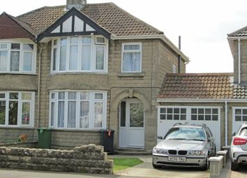 Thumbnail 3 bed semi-detached house for sale in Cornwall Avenue, Swindon