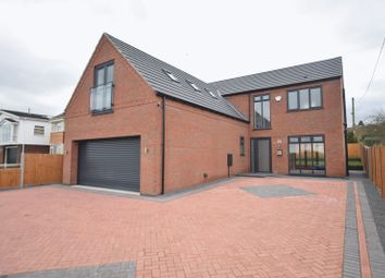 Thumbnail 4 bed detached house for sale in Lincoln Road, Washingborough, Lincoln