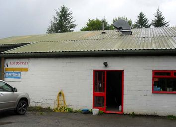 Thumbnail Parking/garage for sale in Fir Tree Garage, Builth Wells