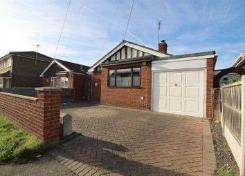 Thumbnail 1 bed detached bungalow for sale in Rattwick Drive, Canvey Island