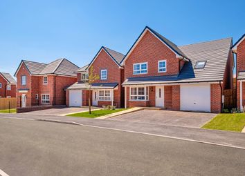 """Thumbnail 4 bed detached house for sale in """"Hertford"""" at Pye Green Road, Hednesford, Cannock"""