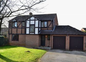 Thumbnail 4 bed detached house for sale in Thames Road, East Hunsbury, Northampton