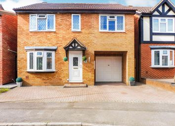 Thumbnail 4 bedroom detached house for sale in Gifford Road, Stratton, Swindon