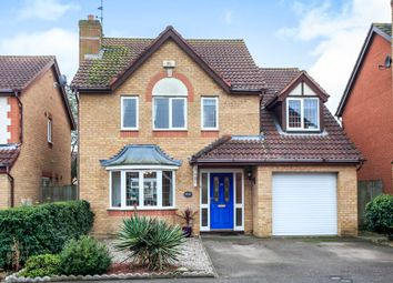 Thumbnail 4 bedroom detached house for sale in Lornas Field, Hampton Hargate, Peterborough