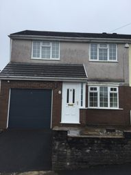 Thumbnail 3 bed semi-detached house to rent in Stepney Road, Cockett, Swansea