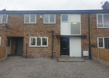 Thumbnail 3 bed terraced house to rent in Naburn Close, Stockport