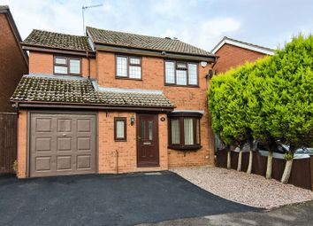 Thumbnail 4 bed detached house for sale in Corsican Drive, Hednesford, Cannock