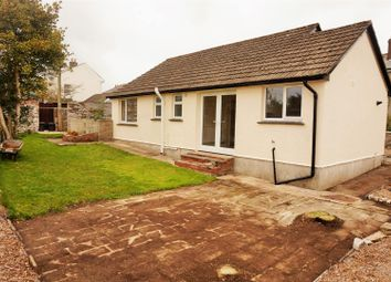 Thumbnail 2 bed detached bungalow to rent in Tremeddan Terrace, Liskeard