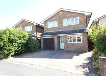 Thumbnail 5 bed detached house for sale in Newton Way, Tongham, Farnham, Surrey