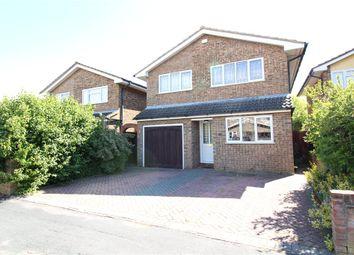 Thumbnail 5 bedroom detached house for sale in Newton Way, Tongham, Farnham, Surrey