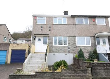 Thumbnail 3 bed semi-detached house for sale in Donnington Drive, Plymouth, Devon