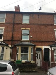 Thumbnail 4 bedroom terraced house to rent in Wilford Crescent East, Nottingham