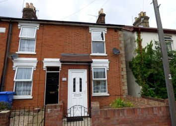Thumbnail 2 bedroom terraced house to rent in Parade Road, Ipswich