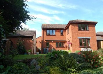 Thumbnail 4 bed detached house for sale in Ambridge Close, East Hunsbury, Northampton