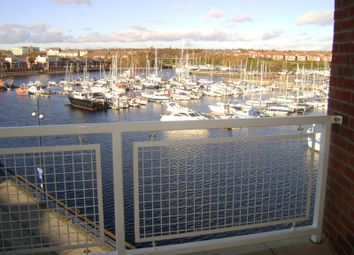 Thumbnail 1 bed flat to rent in Commissioners Wharf, Royal Quays North Shields, Tyne And Wear