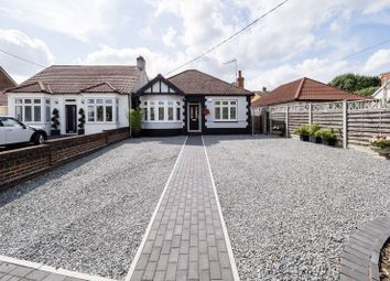 Thumbnail 3 bed detached bungalow for sale in Willow Parade, Front Lane, Cranham, Upminster