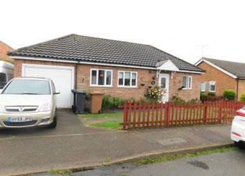 Thumbnail 2 bed detached bungalow for sale in Falconer Avenue, Old Newton, Stowmarket