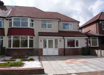 Thumbnail 5 bed semi-detached house to rent in Brown Lane, Heald Green, Cheadle
