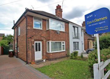 Thumbnail 3 bed semi-detached house to rent in Heatherley Drive, Basford, Nottingham