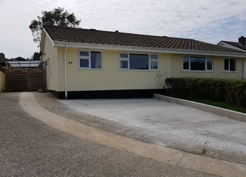 Thumbnail 2 bed bungalow to rent in Venland Close, St. Cleer, Liskeard