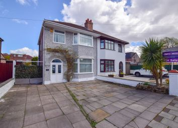 Thumbnail 3 bed semi-detached house for sale in Glyn Avenue, Bromborough